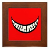 Big Smile Framed Tile