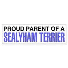 Proud Parent of a Sealyham Terrier Bumper Sticker