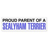 Proud Parent of a Sealyham Terrier Car Sticker