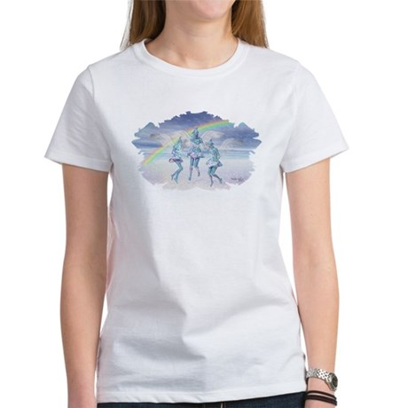 Angels and Rainbows Women's T-Shirt