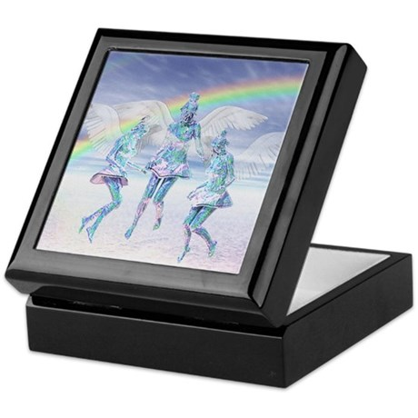 Angels and Rainbows Keepsake Box