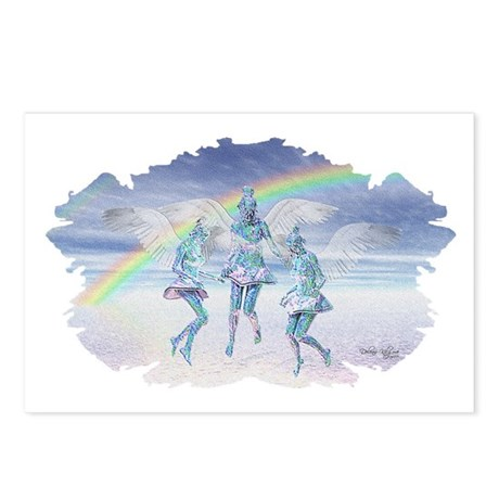 Angels and Rainbows Postcards (Package of 8)