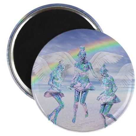 "Angels and Rainbows 2.25"" Magnet (100 pack)"