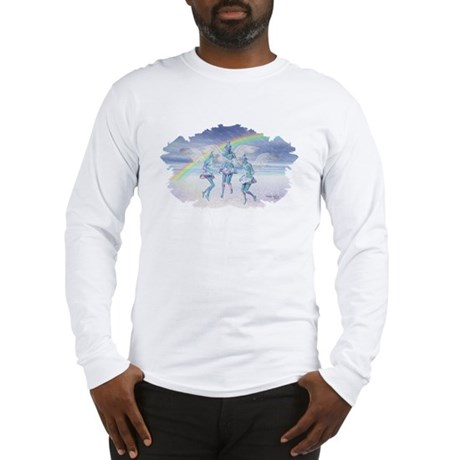 Angels and Rainbows Long Sleeve T-Shirt