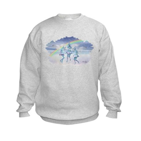 Angels and Rainbows Kids Sweatshirt