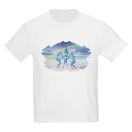 Angels and Rainbows Kids Light T-Shirt