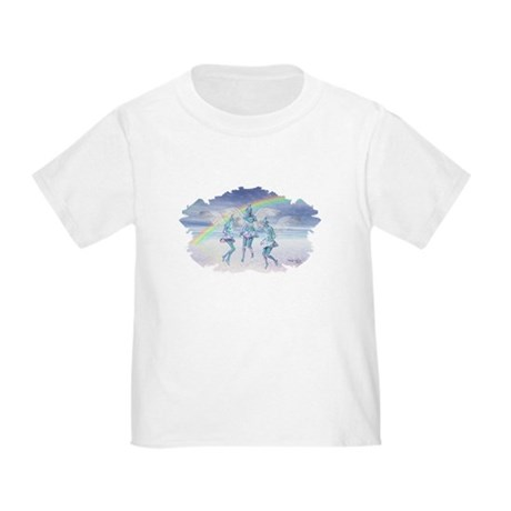 Angels and Rainbows Toddler T-Shirt