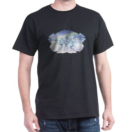 Angels and Rainbows Dark T-Shirt