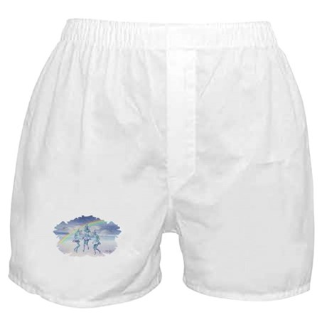 Angels and Rainbows Boxer Shorts