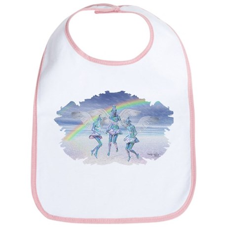 Angels and Rainbows Bib