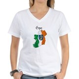 Ireland flag map Shirt