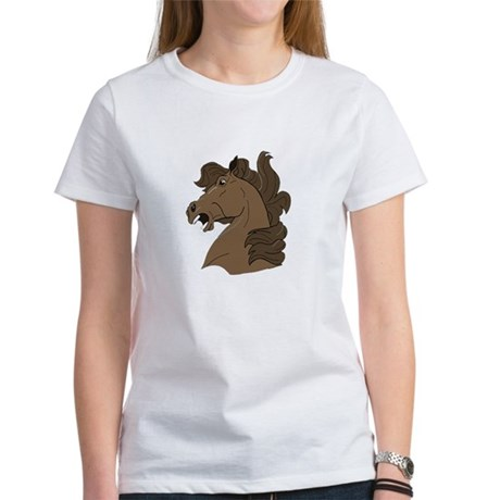 Brown Horse Women's T-Shirt