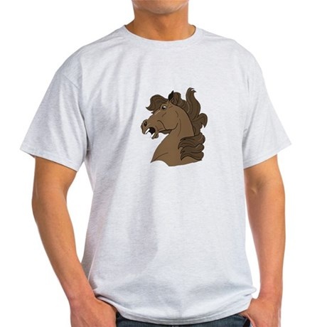 Brown Horse Light T-Shirt