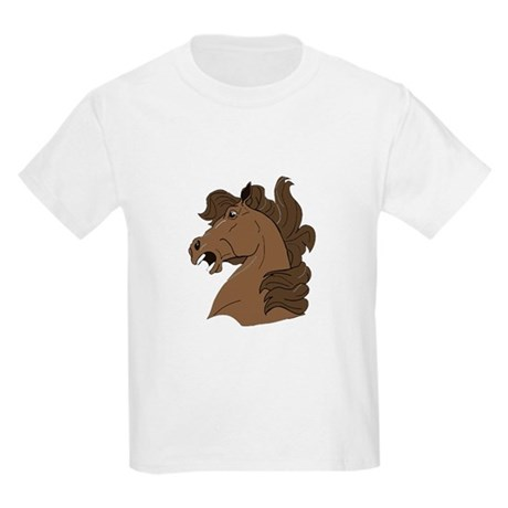 Brown Horse Kids Light T-Shirt