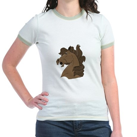 Brown Horse Jr. Ringer T-Shirt