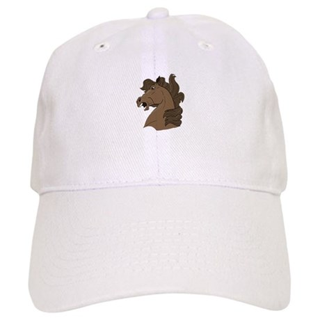 Brown Horse Cap