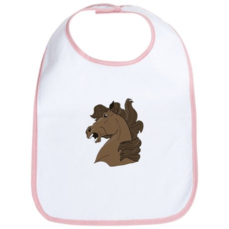 Brown Horse Bib