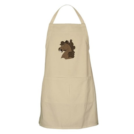 Brown Horse BBQ Apron