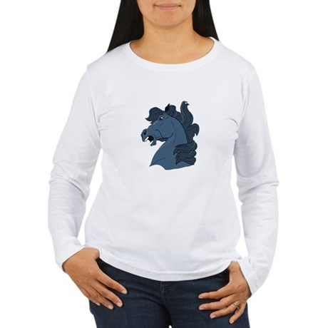 Blue Horse Women's Long Sleeve T-Shirt