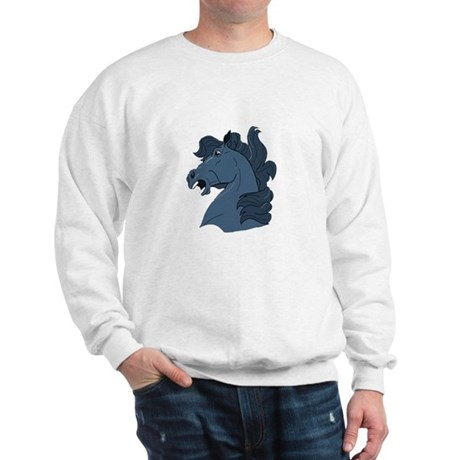 Blue Horse Sweatshirt