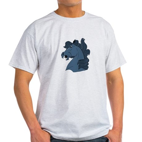 Blue Horse Light T-Shirt