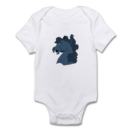 Blue Horse Infant Bodysuit