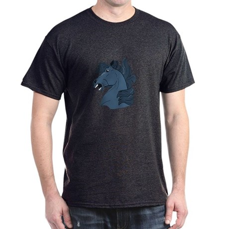 Blue Horse Dark T-Shirt