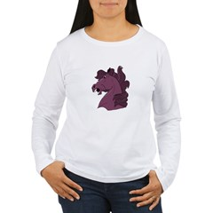 Purple Horse Women's Long Sleeve T-Shirt