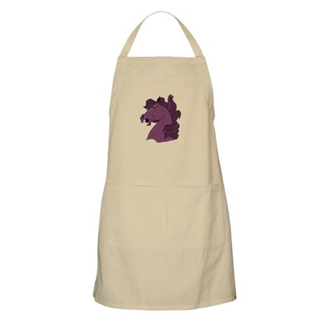 Purple Horse BBQ Apron