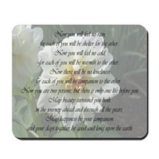 Apache Marriage Blessing Mousepad