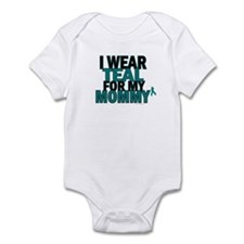 I Wear Teal For My Mommy 5 Infant Bodysuit