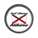Gulf Shores Alabama Wall Clock