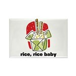 Rice Rice Baby Rectangle Magnet (100 pack)