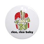 Rice Rice Baby Ornament (Round)