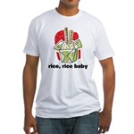 Rice Rice Baby Fitted T-Shirt