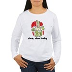 Rice Rice Baby Women's Long Sleeve T-Shirt
