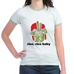 Rice Rice Baby Jr. Ringer T-Shirt