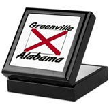 Greenville Alabama Keepsake Box