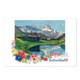 Swiss Beauty Postcards (Package of 8)