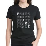 Pro-Peace Women's Dark T-Shirt