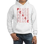 Pro-Peace Hooded Sweatshirt