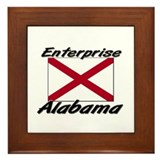 Enterprise Alabama Framed Tile