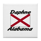 Daphne Alabama Tile Coaster