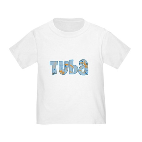 Patterned Tuba Toddler T-Shirt