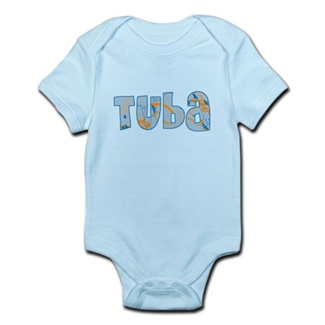 Patterned Tuba Infant Bodysuit
