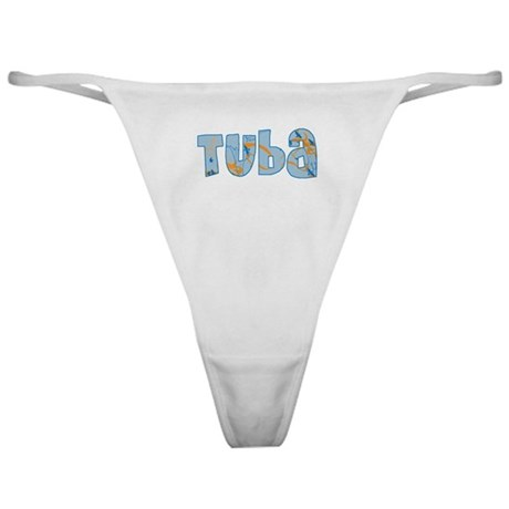 Patterned Tuba Classic Thong