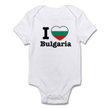 I love Bulgaria Infant Bodysuit