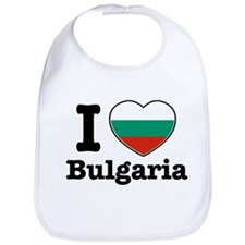 I love Bulgaria Bib