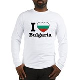 I love Bulgaria Long Sleeve T-Shirt
