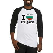 I love Bulgaria Baseball Jersey